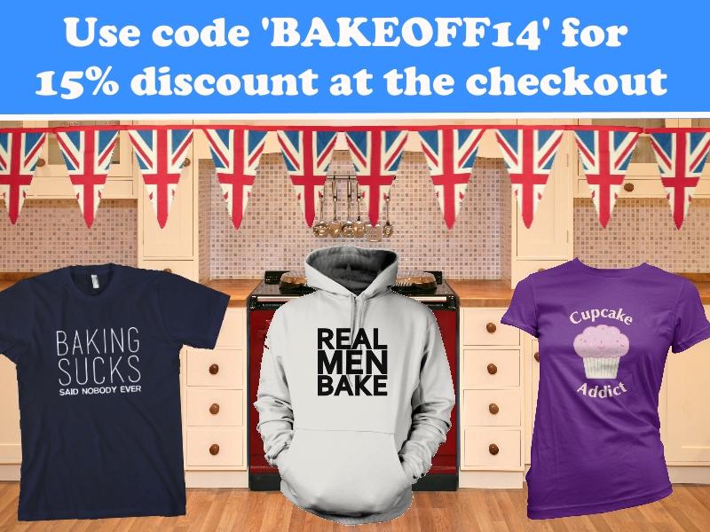 Great British Bake Off T-Shirts