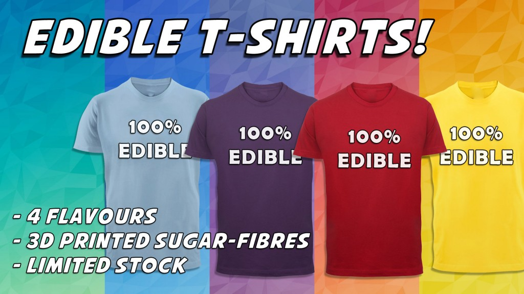 Edible T-Shirts