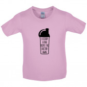 A Scoop A Day Keeps The Doctor Away Kids T Shirt