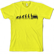 Evolution of Man Beetle Owner T Shirt