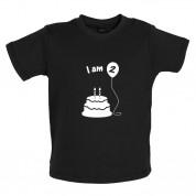 I Am 2 Baby Birthday T Shirt