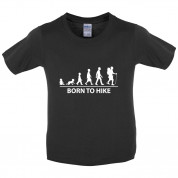 Born to Hike Kids T Shirt