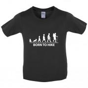 Born to Hike Kids T Shirt