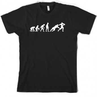 Evolution Of Man Rugby T Shirt Funny T Shirts Amp More