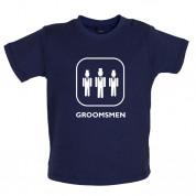 Groomsmen Baby T Shirt