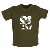 Evolution of Music Hardware Baby T Shirt