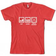 Eat Sleep Field Hockey T Shirt