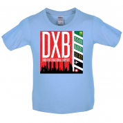Dubai Airport Kids T Shirt
