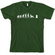 Evolution of Man Gamer T shirt