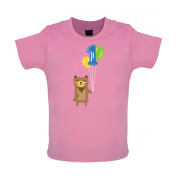 1st Birthday Bear Baby T Shirt