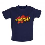 AARGH Word Art Baby T Shirt