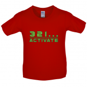 321…Activate Kids T Shirt