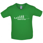Born to Fish Kids T Shirt