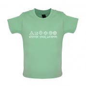 Choose your Weapon (D&D Dice) Baby T Shirt