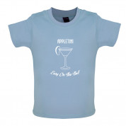 Appletini Easy On The Tini Baby T Shirt