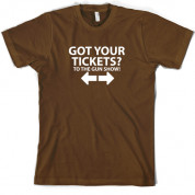 Tickets to the Gun show T Shirt