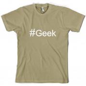 #Geek (Hashtag) T Shirt