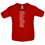 13 Doctors Kids T Shirt