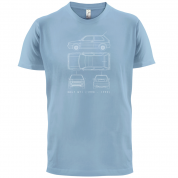 4 View Golf GTI MK2 T Shirt