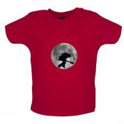 Bass Player Moon Baby T Shirt