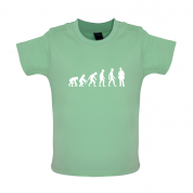 Evolution Of Man Electrician Baby T Shirt