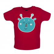 Smiley Face Martian Mrs T Shirt