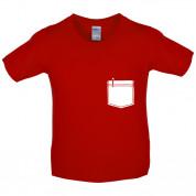 Pen Pocket Kids T Shirt