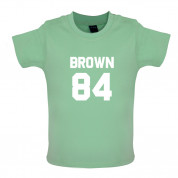 Brown 84 Baby T Shirt