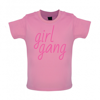 80afea92 Girl Gang T-Shirt | Funny Baby T-Shirts and more at Dressdown.co.uk