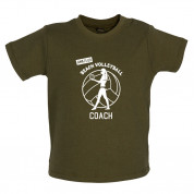 Amateur Beach Volleyball Coach Baby T Shirt
