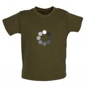Loading Screen Buffering Circles Baby T Shirt