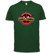 Wade Wilsons Chimi Changas T Shirt