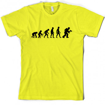5395d9bf7 Evolution of Man Firefighter T-Shirt | Funny T shirts & more from ...