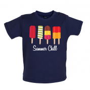 Summer Chill Baby T Shirt