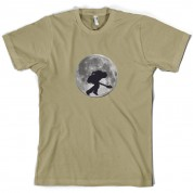 Bass Player Moon T Shirt