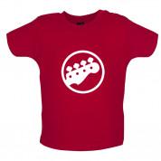 Bass Guitar Headstock Baby T Shirt