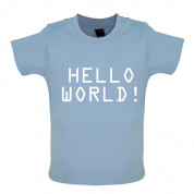 Hello World! Baby T Shirt