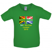 South Africa Say We Can Kids T Shirt