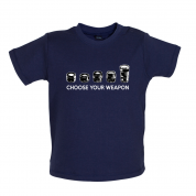 Choose your Weapon (Camera Lenses) Baby T Shirt