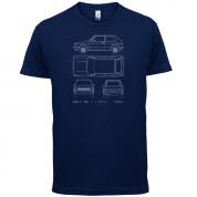 4 View Golf MK1  T Shirt