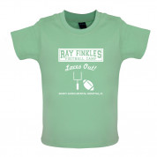 Ray Finkle's Football Camp Laces Out Baby T Shirt