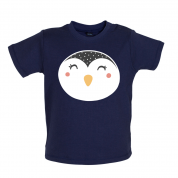 Smiley Face Penguin Mrs T Shirt