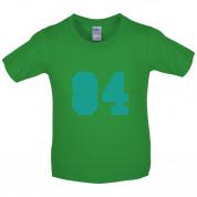 84 Electric Pin Stripe Kids T Shirt