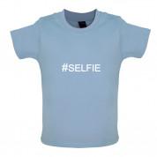 #SELFIE (Hashtag) Baby T Shirt