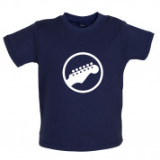 Guitar Headstock Baby T Shirt