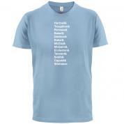 13 Doctors T Shirt