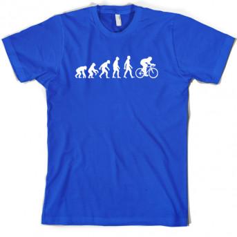 f99de3946 Evolution of Man Cycling T-Shirt | Funny Cyclist T shirts & more ...