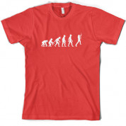 Evolution of Man Guitar T Shirt