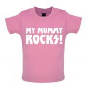 My Mummy Rocks! Baby T Shirt