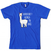 Adventure Alpaca My Bags T Shirt